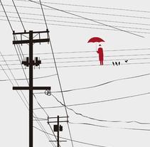 "Ilustración portada libro ""Remedios contra la muerte natural"". Um projeto de Ilustração de Rocío González         - 04.02.2015"