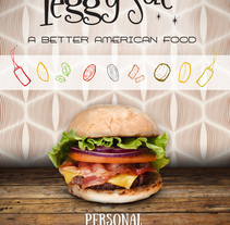 Peggy Sue´s Propuesta Diseño.. Un proyecto de Ilustración y Diseño gráfico de Andrés Trujillo Moreno         - 06.12.2015