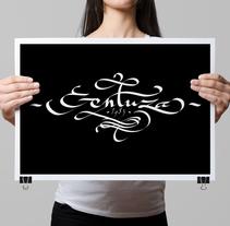 gentuza. Un proyecto de Tipografía de JuanJo R Blik - 12-12-2015