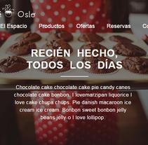 Café Oslo. Mi proyecto al curso Introducción al desarrollo Web responsive con HTML y CSS. Un proyecto de Desarrollo Web de Xavier Culleré tomás         - 13.12.2015