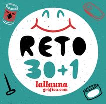 RETO 30+1. ILUSTRACIONES SOLIDARIAS. Un proyecto de Ilustración y Eventos de La Llauna Gràfica  - 15-12-2015
