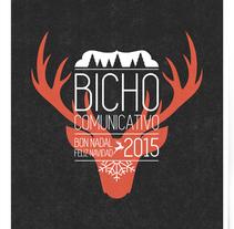 Felicitación de Navidad del Bicho comunicativo. Agencia de comunicación.. A Graphic Design project by Uri          - 15.12.2015