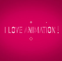 I Love Animation. A Motion Graphics project by Borja Alami Vidal         - 21.12.2015