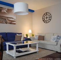 Salón de aire romántico. A Interior Design project by UVE Laboratorio de Diseño         - 20.12.2015