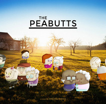 Diseño y Creación de Personajes: The Peabutts. Un proyecto de Ilustración y Diseño de personajes de Tina Tamay - 28-12-2015