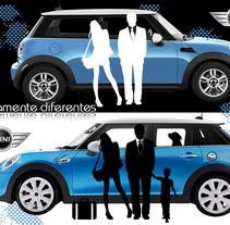 Anuncio Mini. Ganadora del concurso BMW Vehinter Mini.. A Design, and Graphic Design project by María Gris Bartolomé         - 28.12.2015