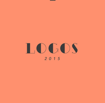 Logotipos 2015. A Art Direction, Br, ing, Identit, and Graphic Design project by Adrián Castanedo         - 29.12.2015