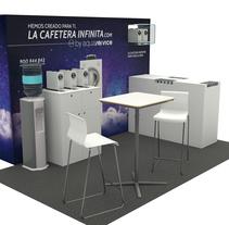 Stand Aquaservice. Un proyecto de 3D, Br, ing e Identidad y Marketing de Samuel Segura Pareja         - 19.11.2015