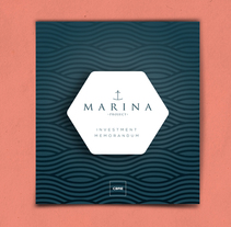 Proyecto Marina - CBRE. A Art Direction, Editorial Design, and Graphic Design project by LeBranders Global Design Solutions          - 30.12.2015