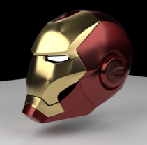 Blender IronMan. A Design, and 3D project by Juan Bares - 12-11-2015