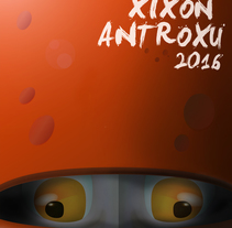 Antroxu Xixón/Carnaval Gijón 2016: Pero, ¿quién ye esti?. A Design, Illustration, and Graphic Design project by Alejandro Mazuelas Kamiruaga - 07-01-2016