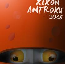 Antroxu Xixón/Carnaval Gijón 2016: Pero, ¿quién ye esti?. Un proyecto de Diseño, Diseño gráfico e Ilustración de Alejandro Mazuelas Kamiruaga - Viernes, 08 de enero de 2016 00:00:00 +0100