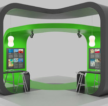 Diseño de Stands. A Advertising, 3D, Br, ing, Identit&Interior Architecture project by Ivan S         - 02.12.2015