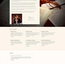 Abogado de derecho civil en Barcelona, Mónica Navarro. Un proyecto de Diseño Web de La Teva Web Diseño Web  - Jueves, 07 de enero de 2016 00:00:00 +0100
