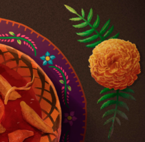 MOLE DE CADERAS (Ritual). A Illustration, Crafts, Editorial Design, Cooking, and Graphic Design project by Snak JM         - 06.01.2016