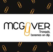 Identidad corporativa Agencia Junior Mcgyver. Um projeto de Direção de arte de Laura Gutiérrez Díaz         - 26.05.2013