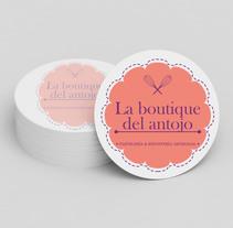 Diseño de Logotipo La Boutique del Antojo. Un proyecto de Diseño de Julieta Almaraz         - 07.01.2016