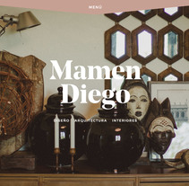 mamendiego.com. A UI / UX, Web Design, and Web Development project by Hector Romo         - 09.01.2016