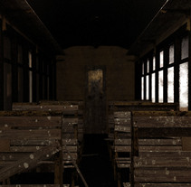 Interior tren. A 3D project by Violeta López Andrés         - 18.06.2015