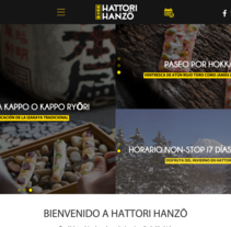 Hattori Hanzo - web restaurante japonés en Madrid. A Web Design project by César Martín Ibáñez  - Jan 18 2016 12:00 AM