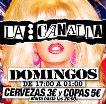 Imagen de La Canalla. A Graphic Design project by José Luis Cid         - 05.01.2016