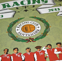 Calendario CENTENARIO REAL RACING CLUB / 1913-2013. A Illustration, Art Direction, Editorial Design, Graphic Design, Information Design, Product Design, and Comic project by JOSÉ MANUEL PASTRANA MARTÍNEZ         - 09.12.2012
