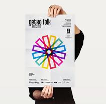 Catálogo Getxo Folk. Un proyecto de Diseño editorial y Diseño gráfico de Borja Junguitu         - 20.01.2016