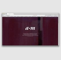 Website for the portuguese artist Ana Martins artist. Um projeto de UI / UX, Web design e Desenvolvimento Web de Filipa Ribeiro - 25-01-2015