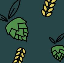El Olivo de la cerveza. Um projeto de Ilustração e Design gráfico de Inmaculada Jiménez - 19-01-2016