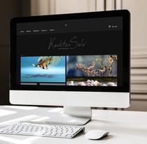 Mi Proyecto del curso: Portfolio fotógrafo Karlitos Solá. Um projeto de Design gráfico e Web design de Sandra Mora Ayala         - 31.01.2016