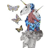 El dios de los tres ilustración. Um projeto de Design e Ilustração de Javier  Navarro Romero         - 01.02.2016