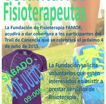 Elaboración cartel publicitario Fundación Actualfisio. Um projeto de Marketing de Iván Morato Poveda         - 19.06.2015