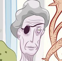 Planta espíritu. Um projeto de Ilustração e História em quadrinhos de Jujo Fosfenos         - 02.02.2016