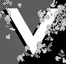 V is for Veil. A Illustration, and Graphic Design project by Leticia Vega         - 05.02.2016