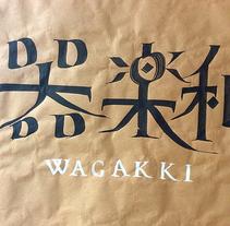 Wagakki. Un proyecto de Caligrafía de Juan Orjuela Venegas - 03-09-2015