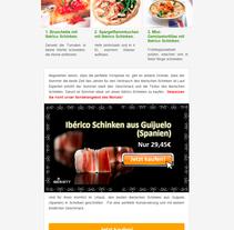 Newsletter · Creación, Diseño y envío de campañas . A Design, and Marketing project by Beatriz Chaves Bueno         - 09.06.2015