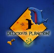 Delicious Plancton. Un proyecto de Ilustración, 3D y Animación de David  Luengo Torrejón - 12-02-2016