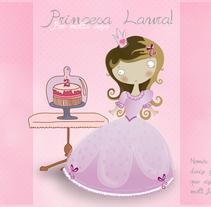 Tarjeta de cumpleaños para una princesita. Un proyecto de Diseño de Patricia Huerta Ponce         - 16.02.2016