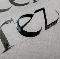 Marcel·lí Pérez Memorial. A Calligraph project by Joan Quirós         - 20.02.2016