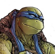 Teenage Mutant Ninja Turtles. Un proyecto de Comic de Leonardo Paciarotti Di Maggio - 29-02-2016