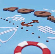 "calendario ""comestible"" fletcher 2015. A Calligraph, Art Direction, Design, Graphic Design&Illustration project by Virginia Hortal  - Jan 02 2015 12:00 AM"