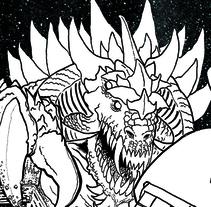 Páginas de Cómic.. Un proyecto de Comic de Adrián Suárez Crossa         - 03.03.2016
