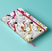 Pattern para impresión en cuadernos . A Design&Illustration project by Luisa Sirvent - Mar 08 2016 12:00 AM
