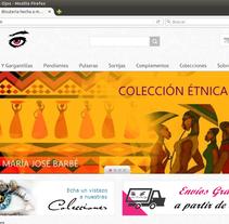 Tienda de bisutería artesanal con Prestashop. Um projeto de Design, Design gráfico, Multimídia, Web design e Desenvolvimento Web de Edorta Ruiz Godoy         - 08.03.2016