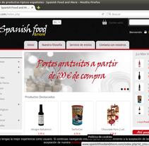 Tienda de productos españoles con Prestashop. Um projeto de Design, Informática, Design gráfico, Multimídia, Web design e Desenvolvimento Web de Edorta Ruiz Godoy         - 08.03.2016