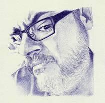 Bolígrafo. Um projeto de Ilustração de Oscar Bermejo         - 08.03.2016