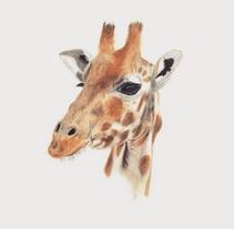 Jirafa. Un proyecto de Ilustración de Carmen GB         - 09.03.2016