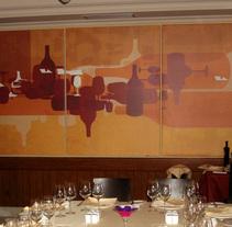 Tríptico para restaurante. Un proyecto de Bellas Artes de kiko hiraldo         - 17.08.2007