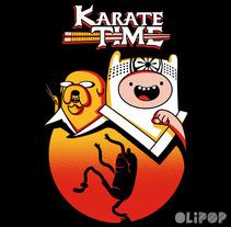 Karate Time. Um projeto de Ilustração e Design gráfico de Oliver Ibáñez Romero         - 13.03.2016