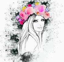 Welcome spring . Un proyecto de Ilustración de Delia Fernandez Medina         - 14.03.2016